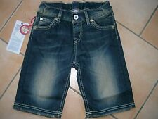 (201) Nolita Pocket Girls used look Jeans Bermuda Hose asymetri. Taschen gr.128