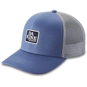 Dakine Classic Logo Trucker Snapback Hat Men's Vintage Blue New 2022