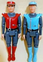 Captain Scarlet & Captain Blue, 1993, 9.5cm, Loose Figures, Great Condition