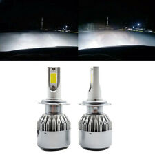 2pcs 120W H7 LED Ampoule Phare Bulbes Headlight Kit 6000K Voiture Feux Car Lampe