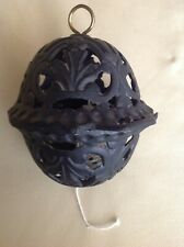 Vintage hanging cast iron string holder puller  country store wrapping utensil !