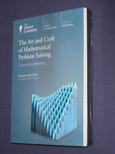 Teaching Co Great Courses DVD    ART CRAFT of MATHEMATICAL PROBLEM SOLVING   new