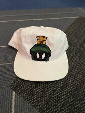 Vintage Marvin the Martian hat promo Warner bro tag 1998 SnapBack made in usa