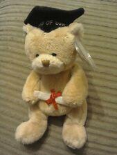 TY BEANIE BABY BEAR --- SCHOLAR