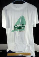 Vtg Salem Refreshest Cigarettes White Tee Shirt L Tobacco Advertisement Smoke !