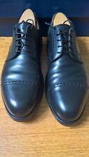Alt Wien by Crockett & Jones Derby Business Schuhe Schwarz Größe 9 Dainitesohle