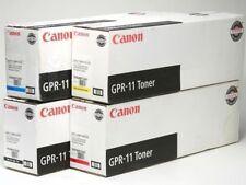 New ! Genuine 4PK Canon 3200 4040 C3220 C2620  GPR 11 GPR11  7626A001 7627A001