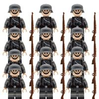 Custom German Army Military WW2 Minifigures Minifigs Soldiers Officers WWII