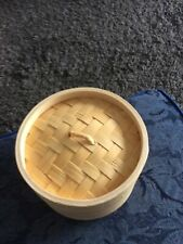 "6"" Bamboo Steamer Brand New - Unused"