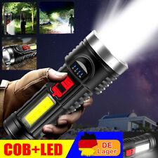 100000lm Super Taschenlampe LED Arbeitslicht  USB Wiederaufladbare Fackel