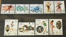 Laos 1987 + 1992 Olympische Spiele Albertville und Seoul schönes Lot Gummiert