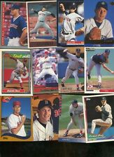 AARON SELE LOT OF 64 ALL DIFFERENT MARINERS  RED SOX TEXAS RANGERS MIMMESOTA