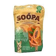 Soopa Natural Dog dental chews - Papaya