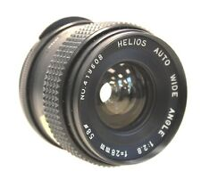 HELIOS Auto Wide Angle 28mm f/2.8 M42 Mount Camera Lens - G23