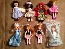 McDonalds Madame Alexander dolls - lot of 8