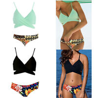 Maillot De Bain Split Pop Bikini Sexy Pour Femmes Maillot De Bain Multicolore DA