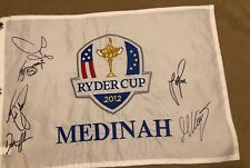 Golf Flag 2012 Ryder Cup US Open Masters Presidents Sawgrass Fedex Cup Pin Flag
