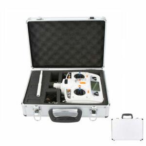 Universal RC Transmitter Receiver Aluminum Carrying Case Box F/JR FUTABA FLYSKY