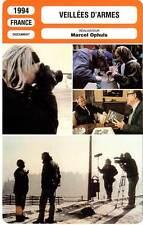 FICHE CINEMA : VEILLEES D'ARMES - Amanpour,Amar,Apollonio,Ophüls 1994