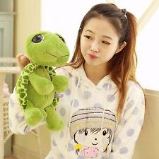 Lovely Big Eyes Green Tortoise Turtle Sea Animal Stuffed Plush Kids Toy Gift15CM