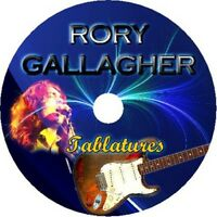 RORY GALLAGHER BASS & GUITAR TAB CD TABLATURE BEST GREATEST HITS BLUES ROCK