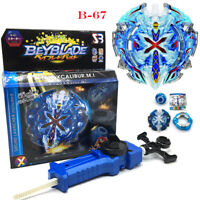 Beyblade Burst Limited B-67 Xeno Xcalibur.M.I Sword Gift With Launcher & Ripcord