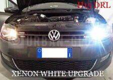 2x H15 LED XENON WHITE CREE DRL DAYTIME RUNNING LIGHT BULBS 6000k VW AUDI 80W