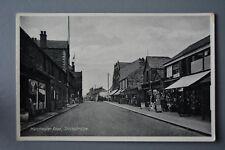 R&L Postcard: Manchester Road Shops Stocksbridge, nr Sheffield & Barnsley