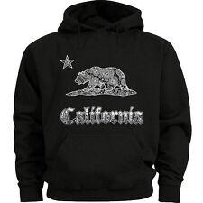 California flag hoodie sweatshirt for men california bear cali west coast sweats