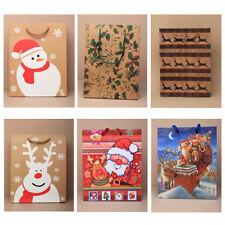 6 Grand Cadeau De Noël Sacs - 1 de Chaque Design-Boîte de Cadeau de Noël Sacs