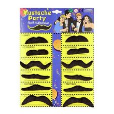 Cosplay Black Halloween Whisker Costume Party Fake Beard Mustache Prop