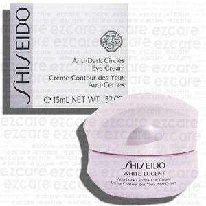 Shiseido White Lucent Anti-Dark Circles Eye Cream 0.5oz/15ml [Free USA Shipping]