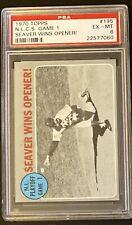PSA 6 1970 Topps Tom Seaver New York Mets #195 Baseball Card