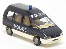 Busch Praline - Renault Espace Police Polizei Frankreich blau - 1:87 H0