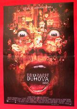 THIR13EN GHOSTS 2001 HORROR TONY SHALHOUB SHANNON ELIZABETH SERBIAN MOVIE POSTER