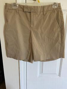 Body By Victoria VICTORIAS SECRET Womens Size 6 Tan Shorts