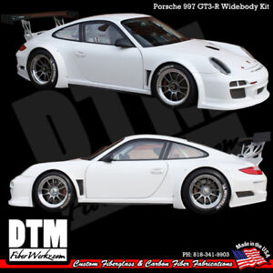Porsche 997 05-12 GT3-R DTM Style Widebody Kit Body MADE IN USA