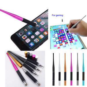 High Quality 2in 1 Capacitive Pen Touch Screen Drawing Pen Stylus for iPhone PC
