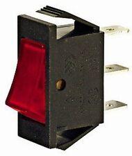 INTERRUTTORE BILANCIERE ON-OFF 250V 16A 31x13,5mm ROSSO SP6992-R