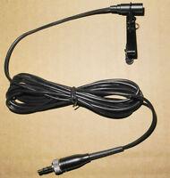 NEW Tie Clip Lapel Lavalier Miniature Mic Microphone for Sennheiser EW G1 G2 G3