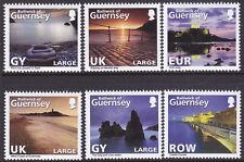 Guernsey 2010 Abstract (2nd) Photographs of Guernsey Set UM SG1321-6 Cat £8.00