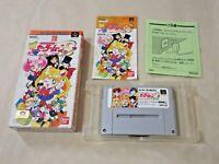 Sailor moon Super Famicom SNES SFC Nintendo boxed Bishoujo senshi 1994 Japan