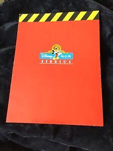 Rare Walt Disney World MGM Studios Cast Member Folder 90's