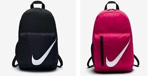 Nike Elemental Kid's Backpack One Size Black Pink BA5405 010 622