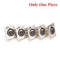 Connettore femmina per presa a pannello XLR a 3 pin per prese a pannello Nic LFI