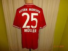 "FC Bayern München Original Adidas Trikot 2013/14 ""-T- - -"" + Nr.25 Müller Gr.L"