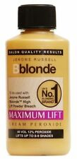 4x Jerome Russell Bblonde Cream 12% Peroxide 40-Volt