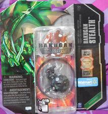 BAKUGAN STEALTH Gundalian Invader Black Darkus Helix Dragonoid Drago SEALED 2010