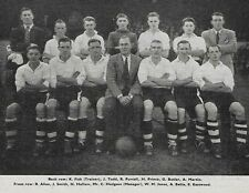 PORT VALE FOOTBALL TEAM PHOTO>1947-48 SEASON