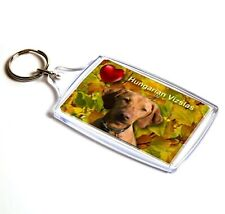 Vizsla Dog Keyring Dog Key Ring Hungarian Vizsla Gift Xmas Gift Stocking Filler